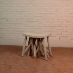 Stool with Crowded Legs - TWST 16-T01