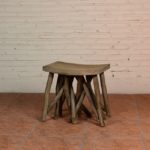 Stool with Crowded Legs - TWST 16-T12