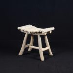 Stool with Tags Slat - TWST 19-IG