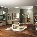Triple Line Living Room
