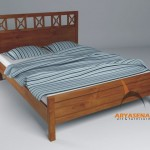 Bed with mattras 160 - CLBR 01A