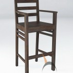 Merbabu Bar Chair with Arm - MBDR 06