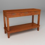 Console Table - MRLR 04